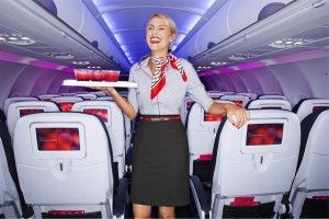 Picture of New Flight Attendant Uniforms